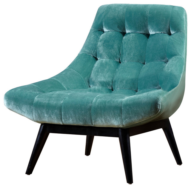 Living Karl Accent Chair, Mint Green