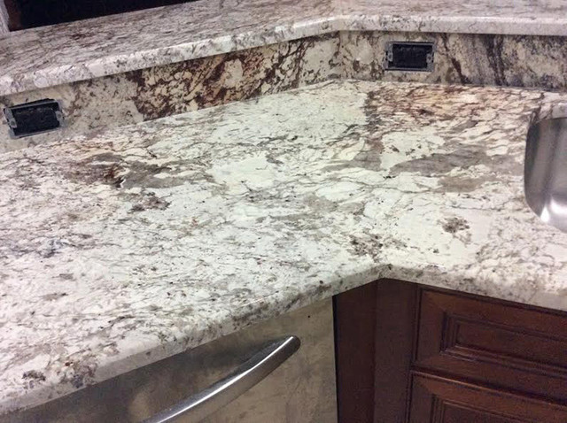White Springs Granite Countertops Orlando on Living Room Furniture Antique White