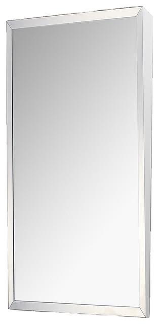 "Mirror Series Surface Mounted Mirror, 16""x30"""