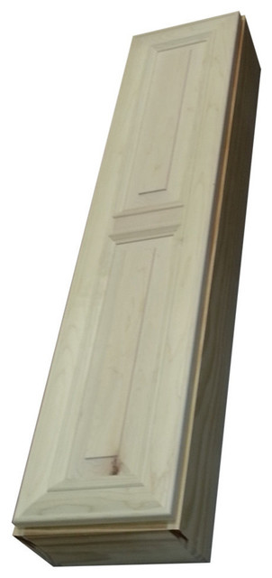 "Flint Series Narrow On-The-Wall Cabinet, 42""x11""x 6.25""."