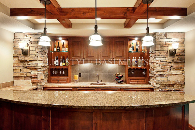 Wet bar for Basement wet bar plans