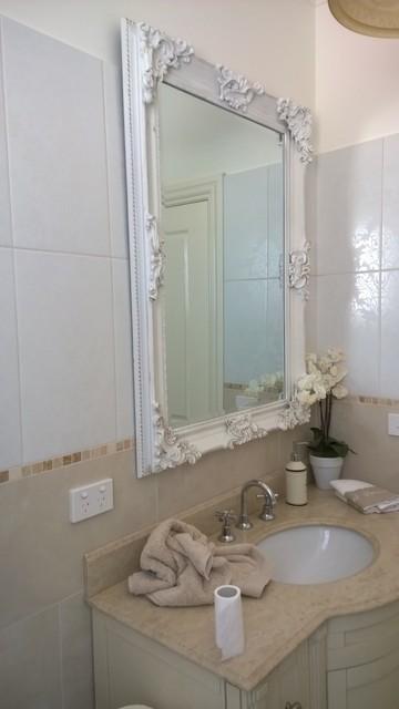 Kew Bathrooms Mediterranean Powder Room Melbourne