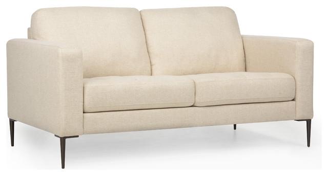Carmen Beige Sofa, 2 Seater.