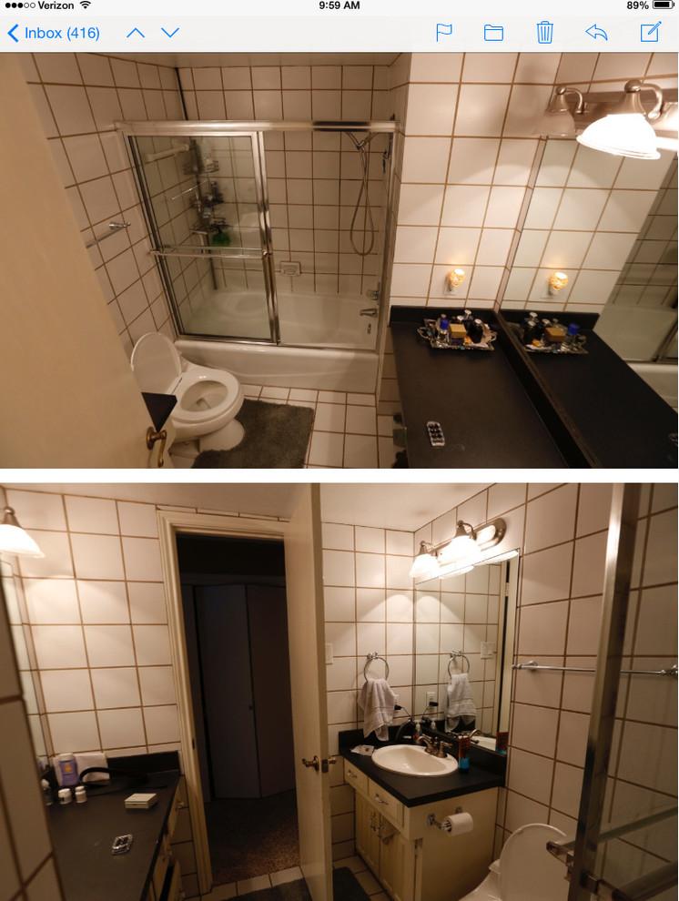 Award Winning - Small Contemporary Bath Renovation