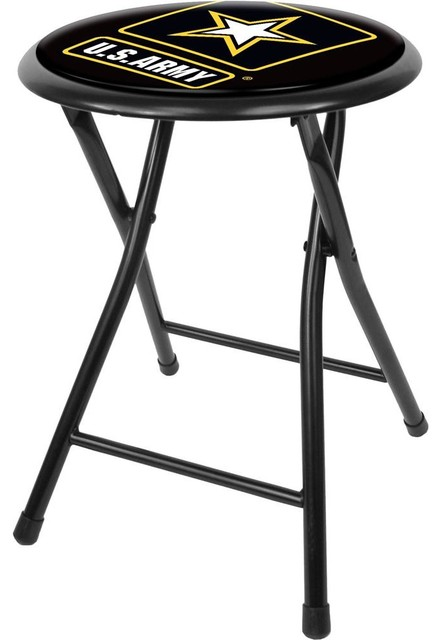 Awe Inspiring U S Army Folding Stool Gmtry Best Dining Table And Chair Ideas Images Gmtryco