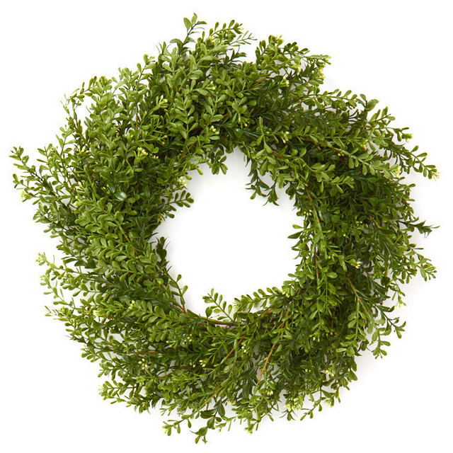 Boxwood Wreath.