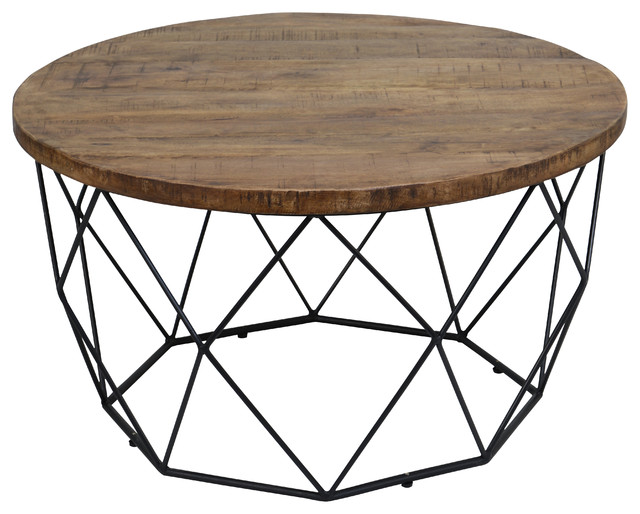 Chester Round Coffee Table By Kosas Home