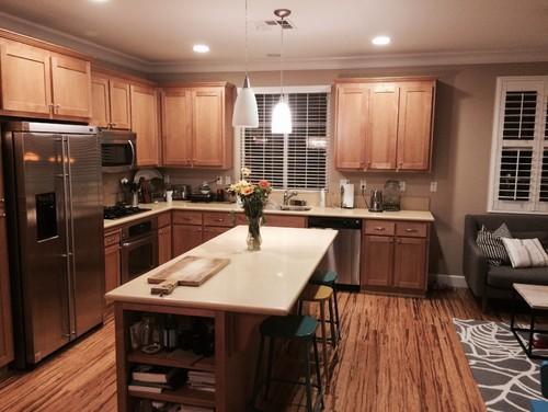 Maple Kitchen Cabinets Backsplash need help picking the backsplash for maple kitchen!