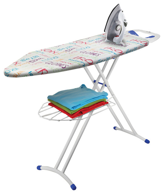 Bonita Pride Ironing Board, Bright Text.