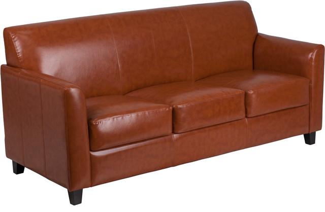 Amazing Hercules Diplomat Series Leather Sofa Cognac Inzonedesignstudio Interior Chair Design Inzonedesignstudiocom