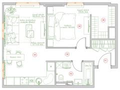 Поиск планировки: 4 плана + финал для апартаментов под сдачу