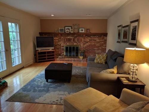 Updating 80u0027s Style Fireplace