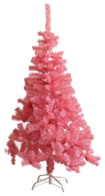 ALEKO Snow Washed Artificial Indoor Christmas Holiday Tree 8 Foot White