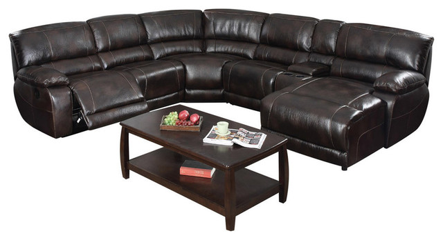 Christopher Reclining Sectional With