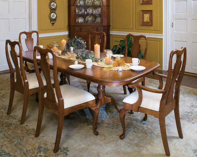 Queen Victoria Dining Set - Traditional - Dining Room - New York ...