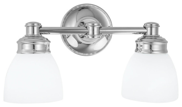 Bathroom Vanity Lights Traditional : Norwell Lighting Spencer 2 Light Vanity - Traditional - Bathroom Vanity Lighting - by Littman ...