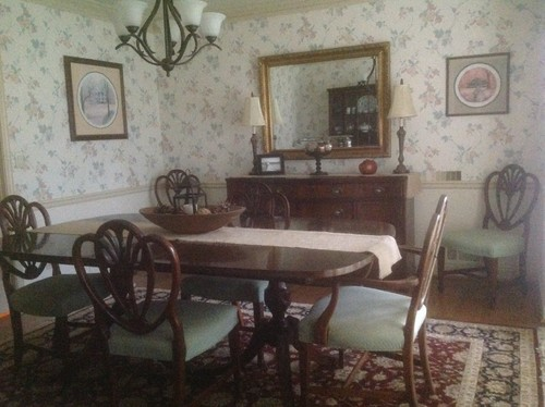 ideas for updating grandma's dining room