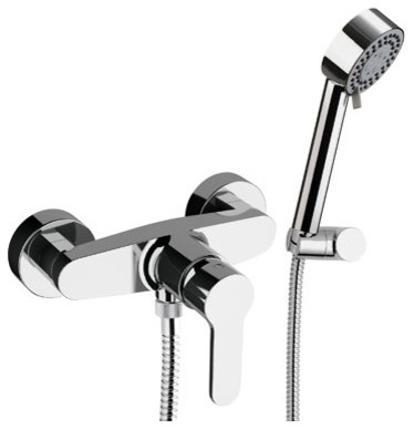 Winner Chrome Plated Wall Mounted Shower Mixer Tap With Shower Kit