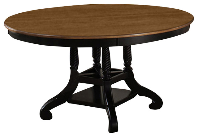 Hillsdale Furniture Wilshire Round Oval Table Dining Tables