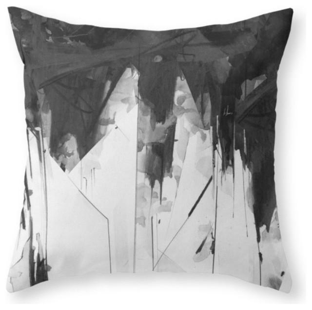 Society6 Macy Throw Pillow Contemporary Decorative