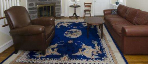 Here Is A Photo Of The Rug In Our Old House. Iu0027ll Post Pictures Of The New  Dining Room Shortly.