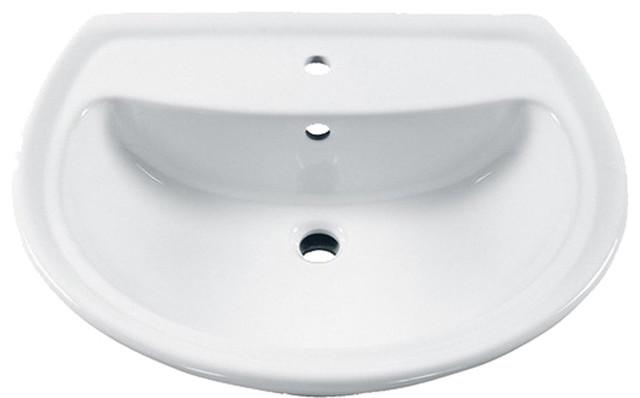 American Standard Cadet Sink Top White Bathroom Sinks By Plumbersstock