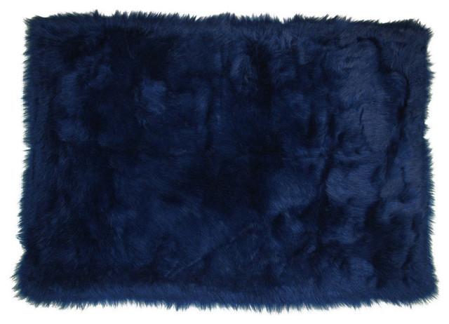 Dark Blue Rug, Dark Blue,, Dark Blue, 31x47.