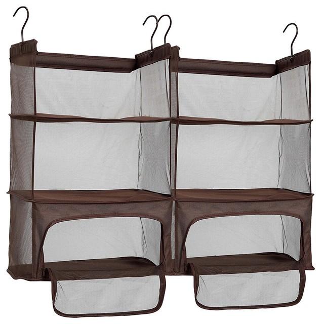 Storagemaniac Luggage Shelves, Hanging Shelves, Set Of 2.