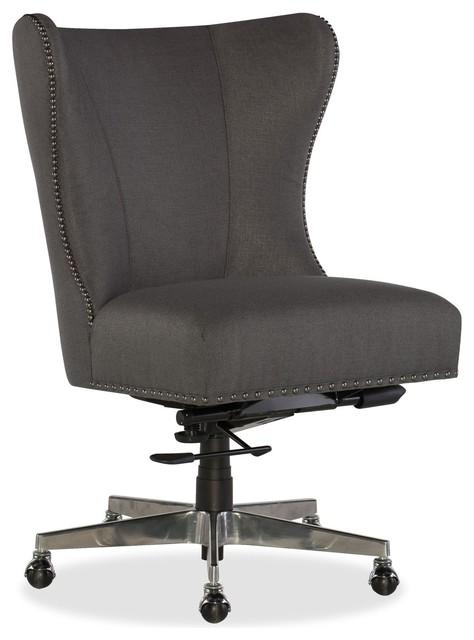 Hooker Furniture Juliet Home Office Chair, Gray.