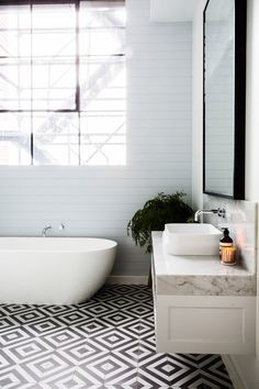 Encaustic Tiles Bathroom
