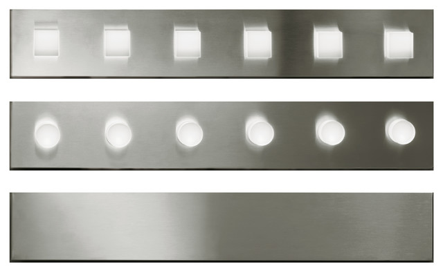 Ego Lineare Wall Light, Polished Stainless Steel