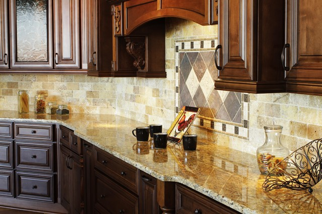 Bristol coffee traditional nashville by procraft for Cappuccino color kitchen cabinets