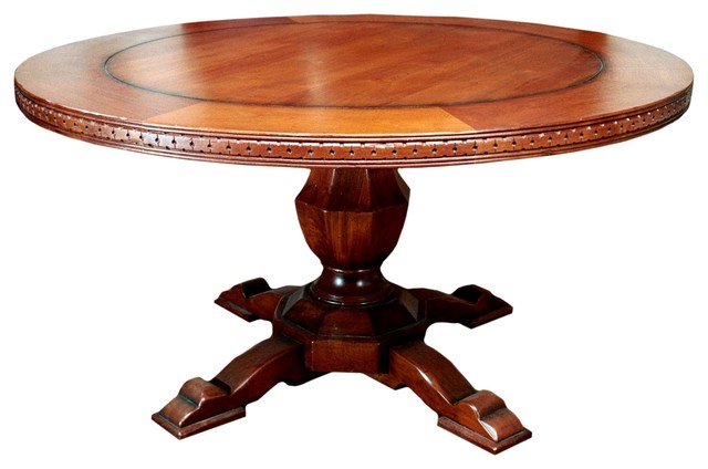 Shop Houzz TerraSur Siena Round Dining Table Dining Tables