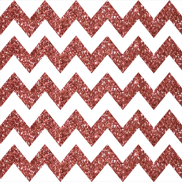 Rose Gold Chevron Photo Booth Backdrop