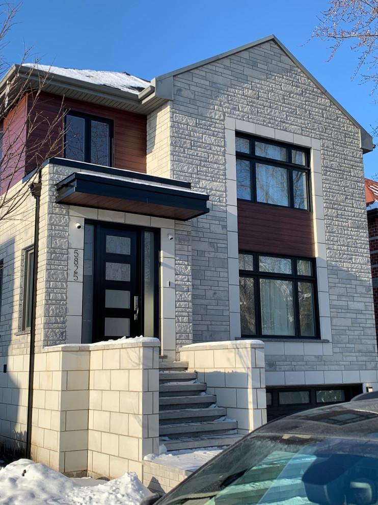 Renovation of facade