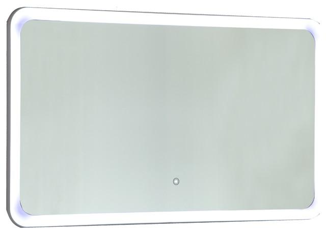 Vanity Art Led Lighted Vanity Bathroom Mirror With Touch Sensor.
