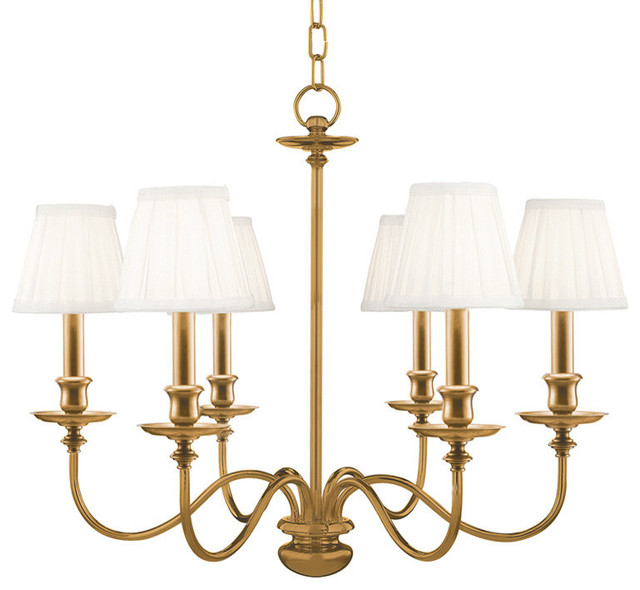 Hudson Valley Lighting Menlo Park Transitional Chandelier X-BGA-6304
