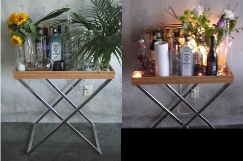 Inspiration for a modern dining room remodel in Atlanta
