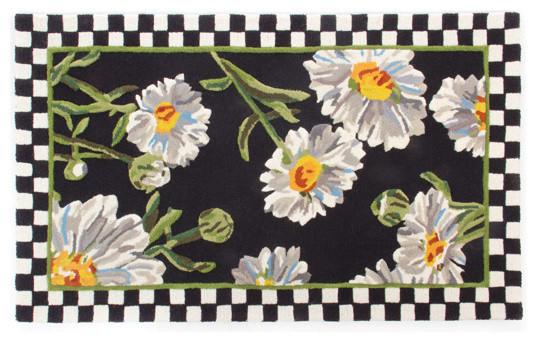 Mackenzie childs rug rugs ideas for Mackenzie childs fish rug