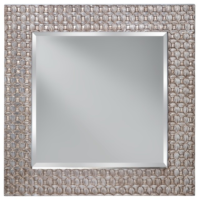 Murray Feiss Mirrors: Murray Feiss MR1199ASLF Mirror, Antique