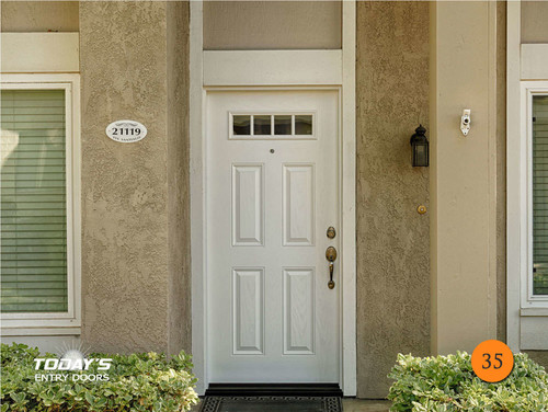 New Entry Door For Colonial