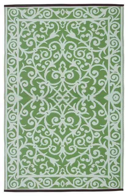 Gala Indoor/Outdoor Rug, Herbal Garden and Ivory, 150x240 cm
