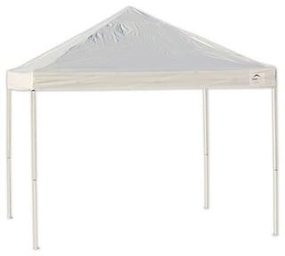 10'x10' ST Pop-up Canopy, Truss Top, White Cover, Black Wheel Bag