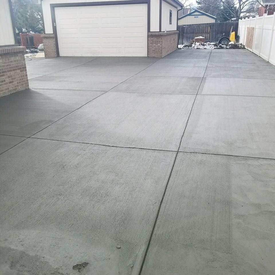 Concrete Patio Foundation