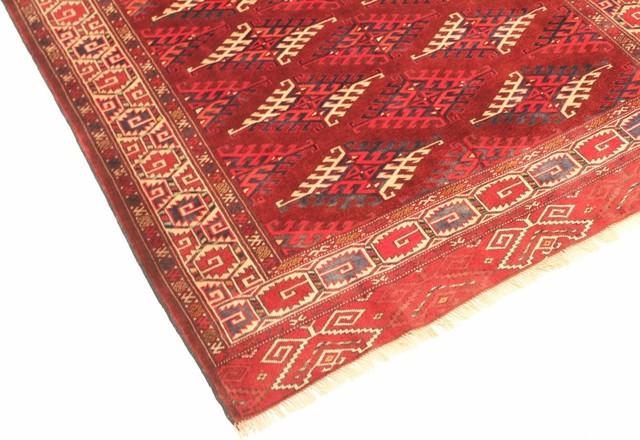 """Persian Rug Turkaman Old 10'2""""x5'9"""""""