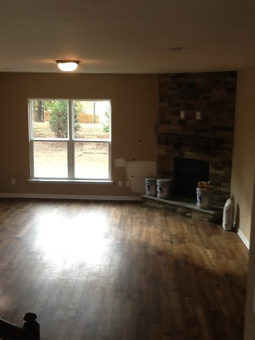 Ideal Open floor plan with corner fireplace TH87