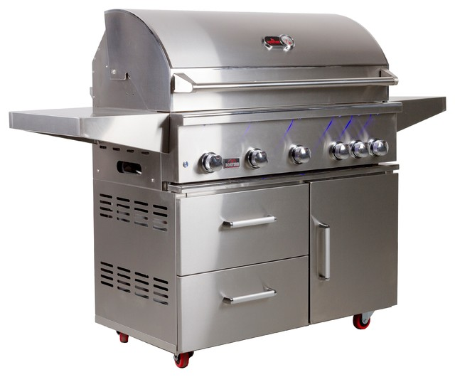 Bonfire Prime 500 Cart With Door And Double Drawer.