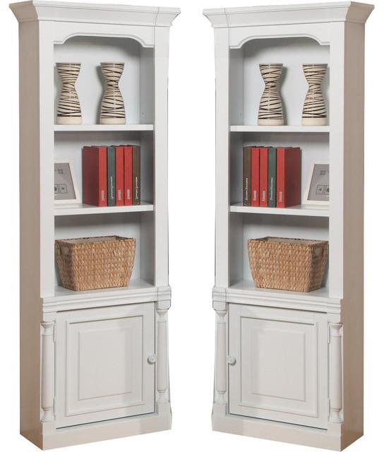 Parker House Premier Alpine Pier Cabinet Sides (pair), White.