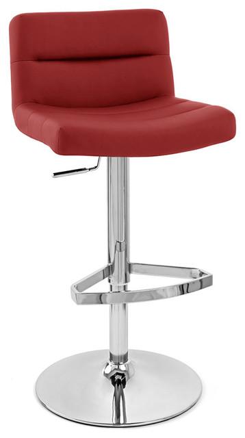 Lattice Adjustable Height Swivel Armless Barstool