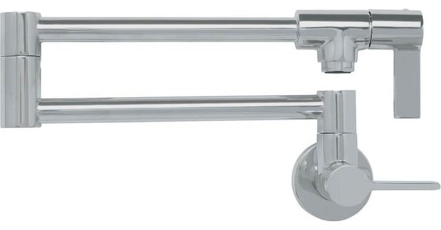 Franke Pf31 Ambient Wall Mounted Pot Filtration 10007 Faucet, Satin Nickel.